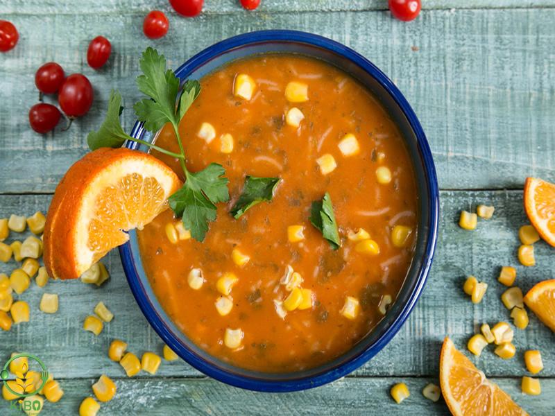 سوپ شیر کترینگ کیبو