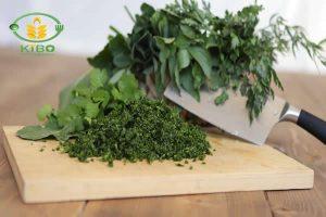 ترکیب سبزی قورمه سبزی