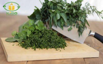 سبزی قورمه سبزی