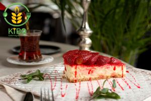 تزئین چیز کیک