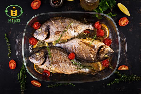انواع روش پخت ماهی