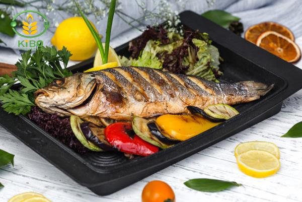 پخت ماهی در فر
