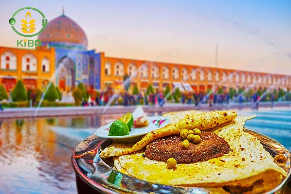 معروف ترین غذای خیابانی اصفهان