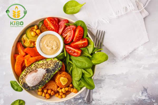 طرز تهیه سالاد سبزیجات خام