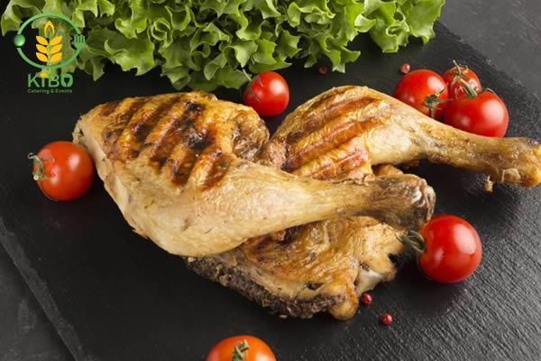 طرز تهیه مرغ گریل