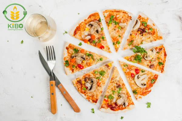پیتزا سبزیجات رژیمی
